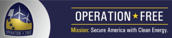 Operation Free. Mission: Secure America with Clean Energy