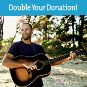 Jack Johnson will Double Your Donation