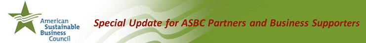 ASBC Launches Companies for Safer Chemicals Coalition & Other Updates