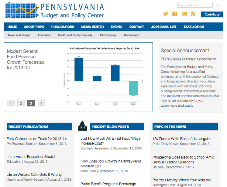 Check Out PBPC's New Web Site