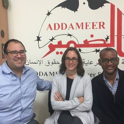 CCR Staff at Addameer