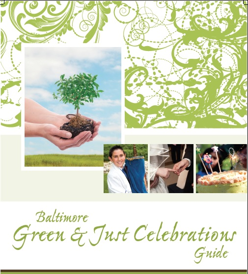 The cover page of Baltimore's booklet