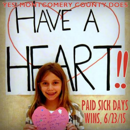 Little Girl Reminds us that MoCo Has a Heart!