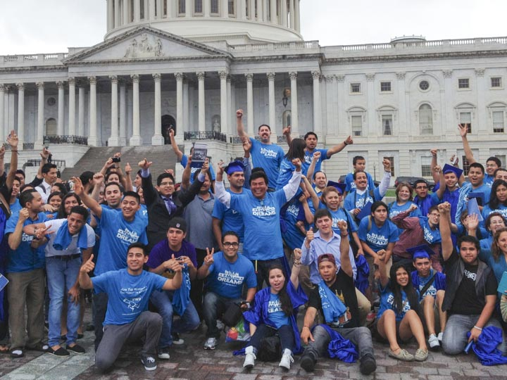 DREAMers celebrate passage of senate bill