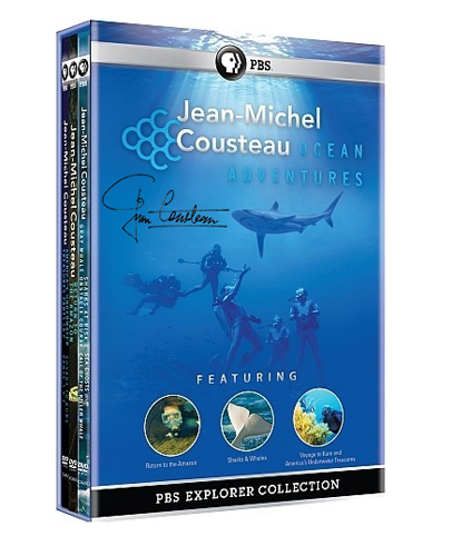 Jean-Michel Cousteau: Ocean Adventures Explorer Collection