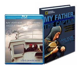 My Father, the Captain Book and Blu-ray