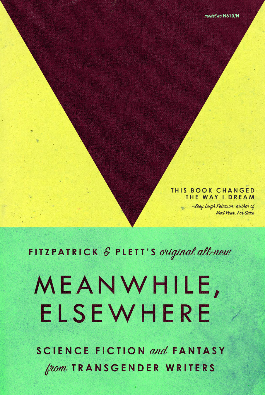 Meanwhile, Elsewhere: Science Fiction and Fantasy from Transgender Writers